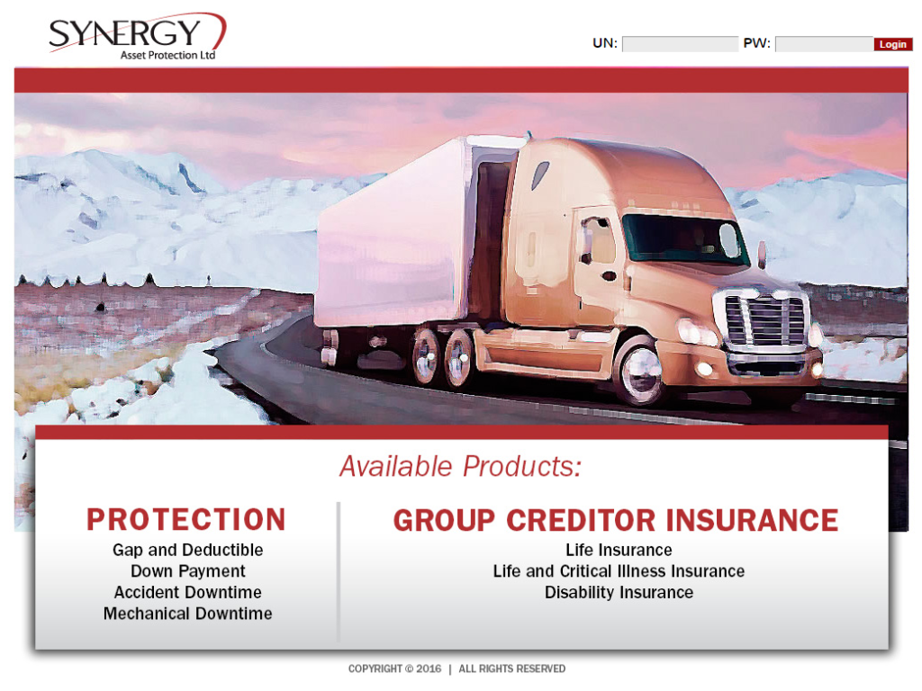 synergy homepage